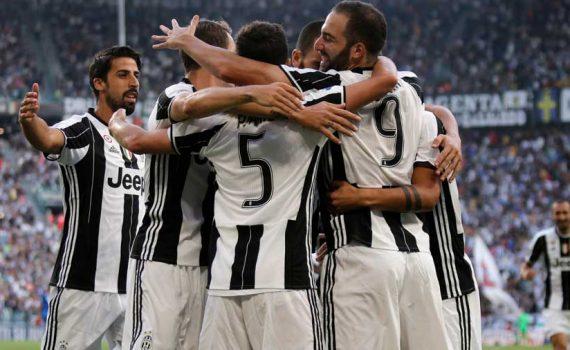 Juventus winning