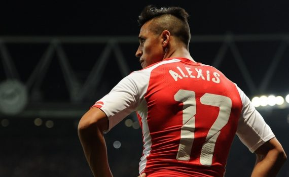 Alexis Sanchez goals for Arsenal