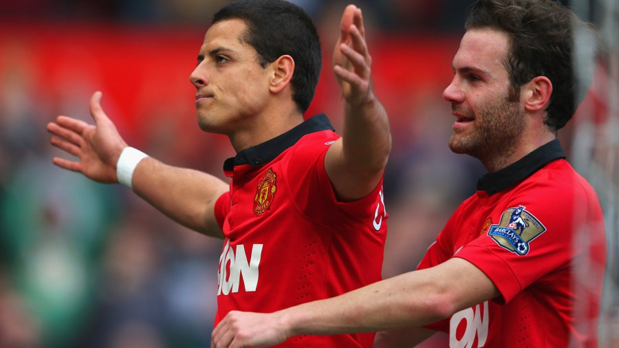 Hernandez Man. Utd.